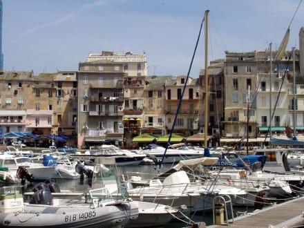 Der Hafen von Bastia - Hafen Bastia