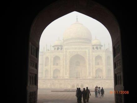 Höhepunkt jeder Reise nach Indien: Taj Mahal - Taj Mahal