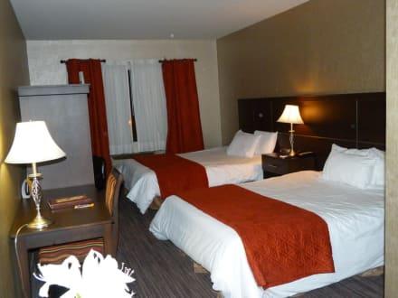 Zimmer in Ordnung - keine Luft - Hotel Ambassadeur Et Suites