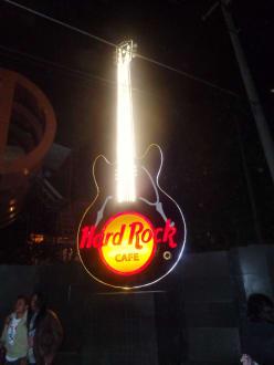 Die Gitarre - Hard-Rock Cafe
