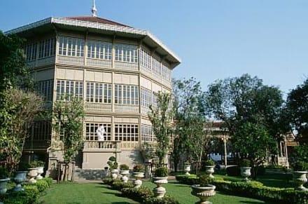Bangkok - Dusit-Palast, Vimanmek Mansion - Phra Ratchawang Dusit