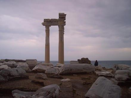 Ausgrabungen bei Side - Apollon Tempel