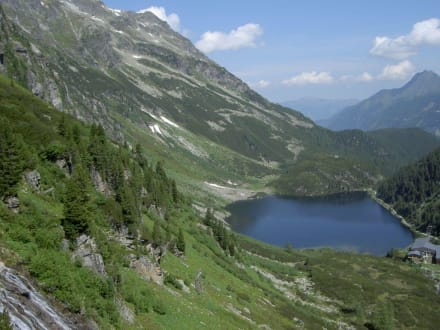 Zum Weißseegletscher - der Grüner See - Postalm - Berndtalm