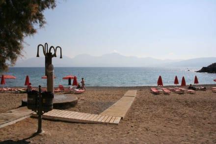 Strand in Agios Nikolaos - Strand Agios Nikolaos