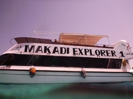 Ausflugsboot mit Glasboden - Tiger Marine