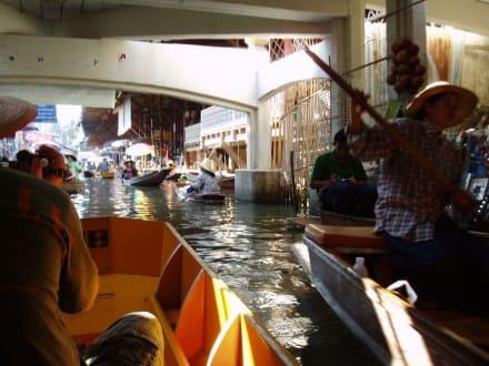 Markttreiben - Schwimmende Märkte / Floating Market / Damnoen Saduak