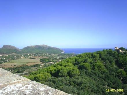 Blick vom Castell - Castell de Capdepera