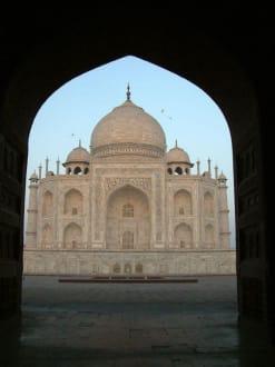 Das Hauptgebäude des Taj Mahal - Taj Mahal