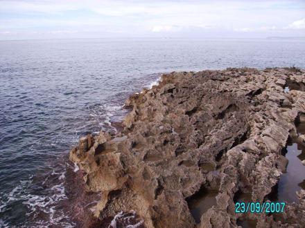 Felsenmassivve- Weg zum Leuchtturm - Leuchtturm Colonia Sant Jordi