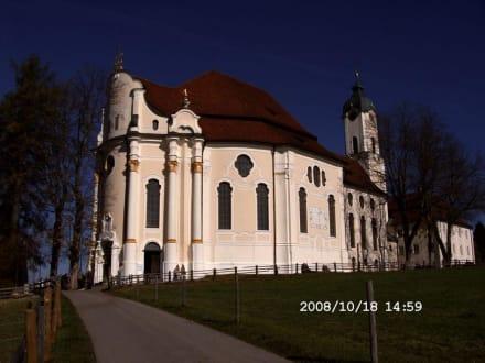 ' Rückseite ' - Wieskirche