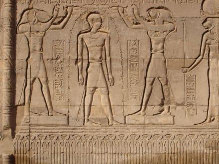 Wandzeichnungen - Tempel des Chnum / Esna