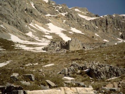 Ausgrabungsstätte in den Bergen - Tour & Ausflug