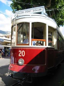 Straßenbahn von Soller nach Port de Soller - Straßenbahn Sóller - Port de Soller