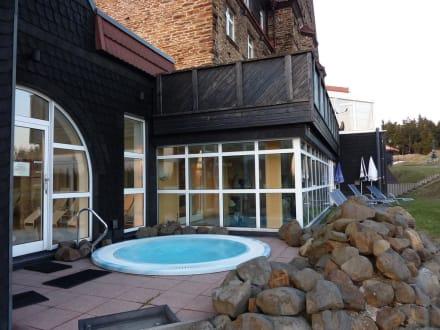 whirlpool au en bild hotel sachsenbaude in oberwiesenthal sachsen deutschland. Black Bedroom Furniture Sets. Home Design Ideas