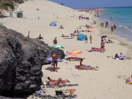Strand bei Morra Jable - Strand Morro Jable