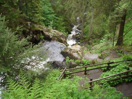 Wanderweg der Triberger Wasserfälle - Triberger Wasserfälle