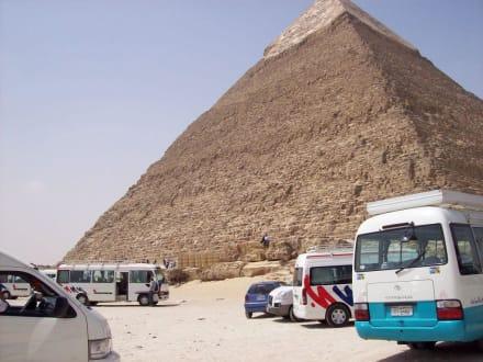 Chephren Pyramide - Pyramiden von Gizeh