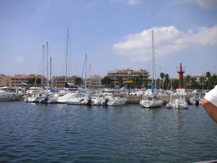 Hafen Colonia Sant Jordi - Yachthafen Colonia Sant Jordi