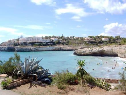 Badebucht in Calas de Mallorca - Strände Calas/Cales de Mallorca