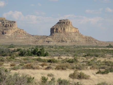 Chaco Canyon in New Mexico - Chaco Culture National Historical Park