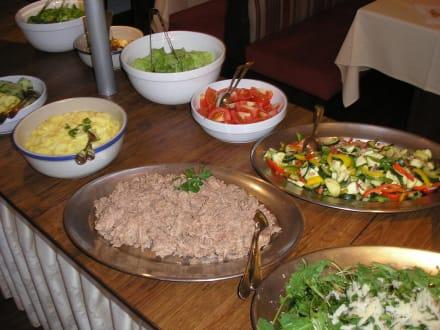 Salatbuffet - Hotel Sport Aktiv