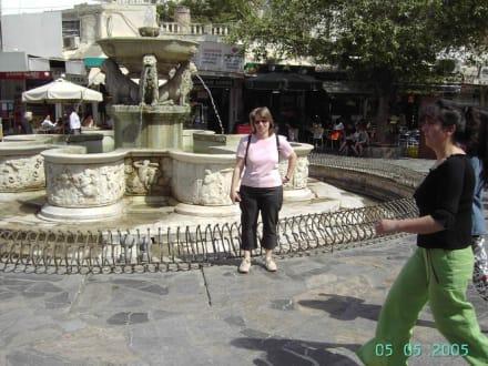 Brunnen in Heraklion - Löwenbrunnen / Morosini Brunnen