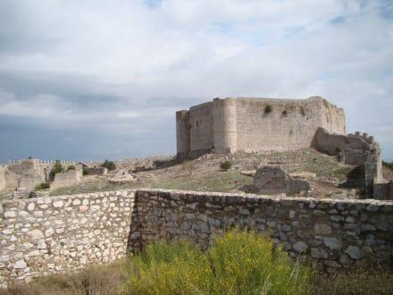 Die Zitadelle - Festung Chlemoutsi