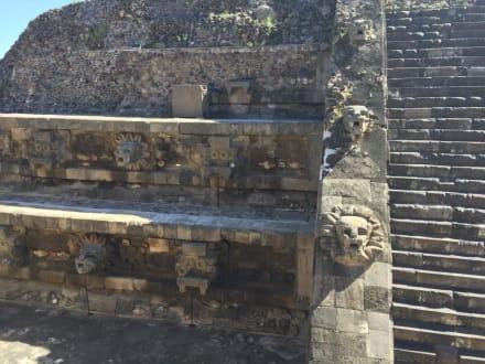 Teilausschnitt TempelAgrikultur - Teotihuacan