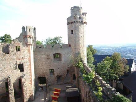 Auerbacher Schloss: Innenhof - Schloss Auerbach