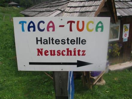 Zur Taca-Tuca Bahn - Märchenwandermeile Trebesind