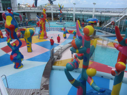 Kinder-Pool Bereich H2O - Freedom of the Seas
