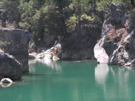 Green Canyon - Oymapinar Baraji/ Stausee Green Lake & Green Canyon