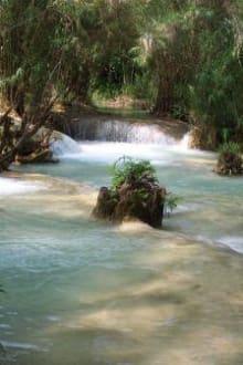 Wasserfälle - Khouang Sy Wasserfälle