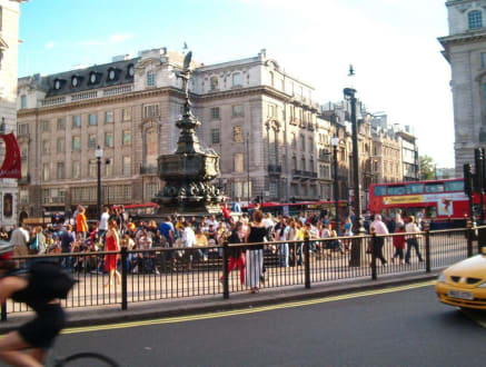 Blick auf den Picadilly Circus - Piccadilly Circus