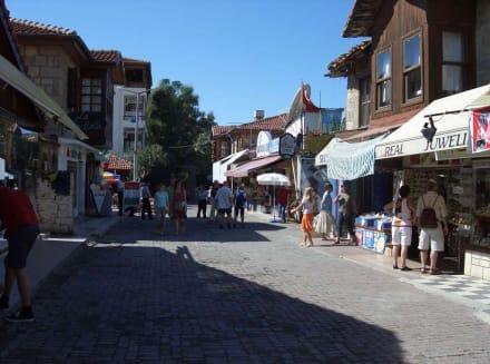 Stadtkern von Side - Altstadt Side