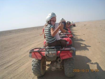 Quad-Tour in der Wüste bei Hurghada - Wüstentour Hurghada