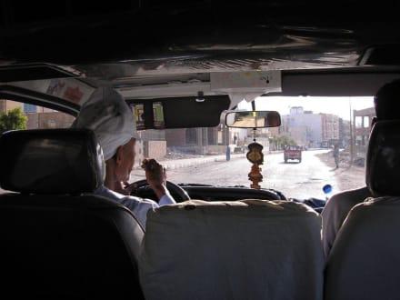 Taxifahrt nach Downtown - Transport