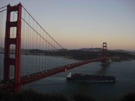 Blick auf die Golden Gate Bridge - Bild 2 - Golden Gate Bridge
