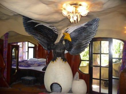 Blick ins Adler-Zimmer - Hang Nga Haus / Crazy House