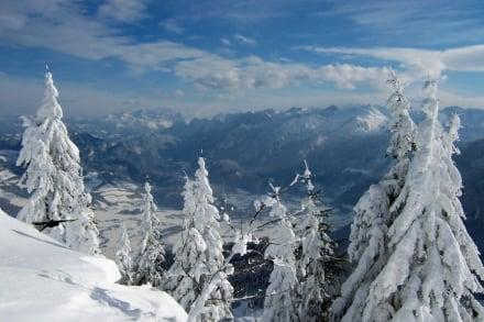 rundumblick vom rossfeld - Skigebiet Rossfeld
