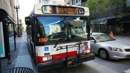 Mit dem Bus durch Chicago - Transport