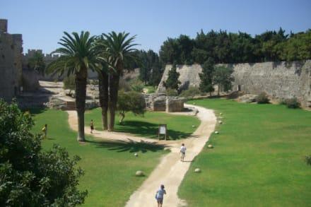 Die Stadtmauer von Rhodos' Altstadt - Stadtmauer Rhodos