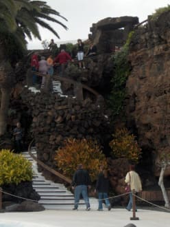 Wendeltreppe zum Ausgang - Jameos del Agua Cesar Manrique