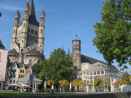 Köln, - Groß St. Martin