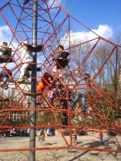 Der Spielplatz mit Klettergarten! - Zoo Karlsruhe