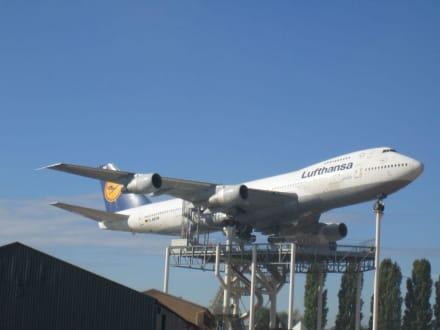 Lufthansa Boing 747 - Technik Museum Speyer