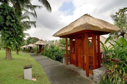 Villa entrance -