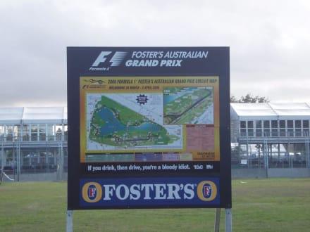 Formel 1 im Albert Park - Albert Park