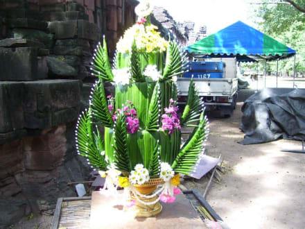 Dekor - Khmer Tempel