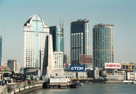 Bund - Uferstraße Bund Shanghai